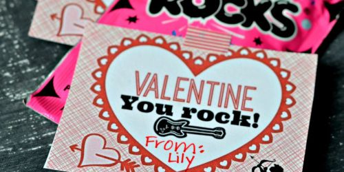 FIVE Classroom Valentine's Day Card Ideas With Free Printables