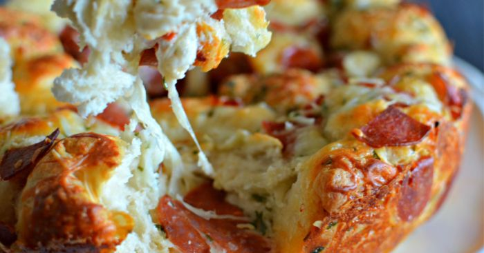 pull apart pizza Hip2Save