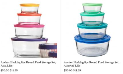 Oneida Com Kitchen Organization Sale Extra 20 Off Great Deals On Food Storage Sets Hip2save