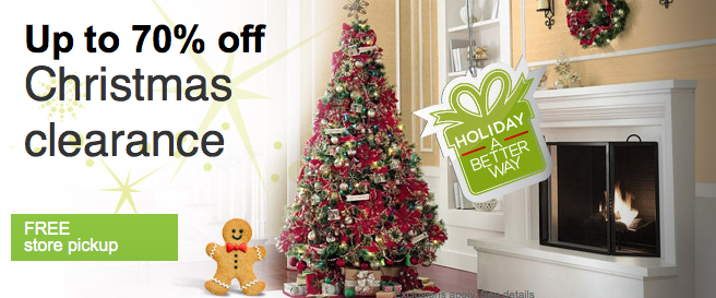 Clearance Christmas Trees.Sears Com Up To 70 Off Christmas Clearance Great Deals On