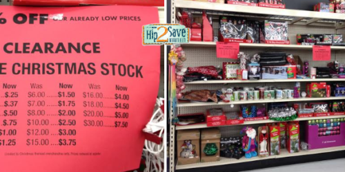 Big Lots: 75% Off Christmas Clearance