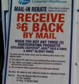 Rare $6 Mail-in Rebate for Purchasing 3 Pfizer Products + Nice Scenarios at Target, Rite Aid, & CVS