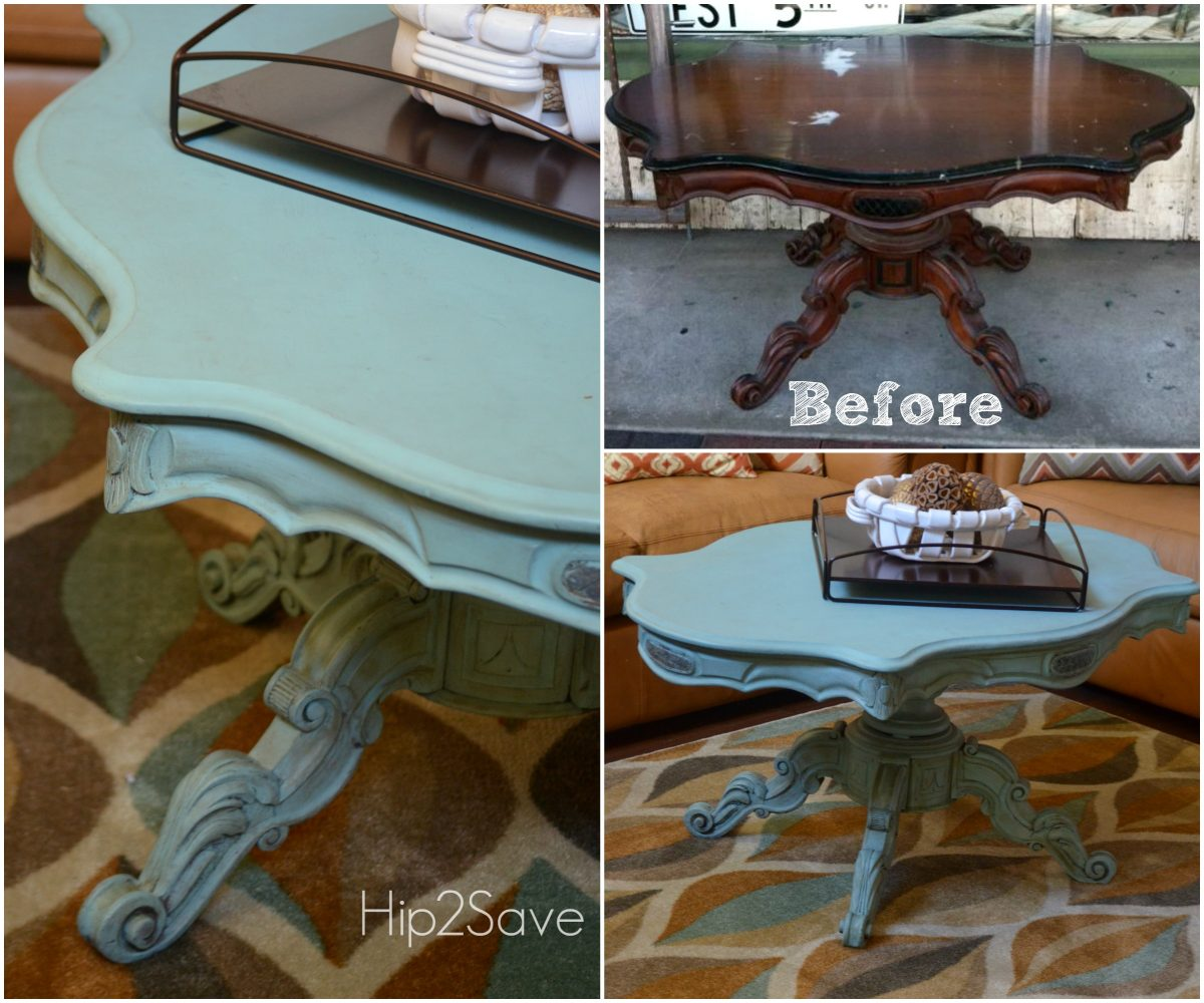 Coffee Table Makeover Hip2Save
