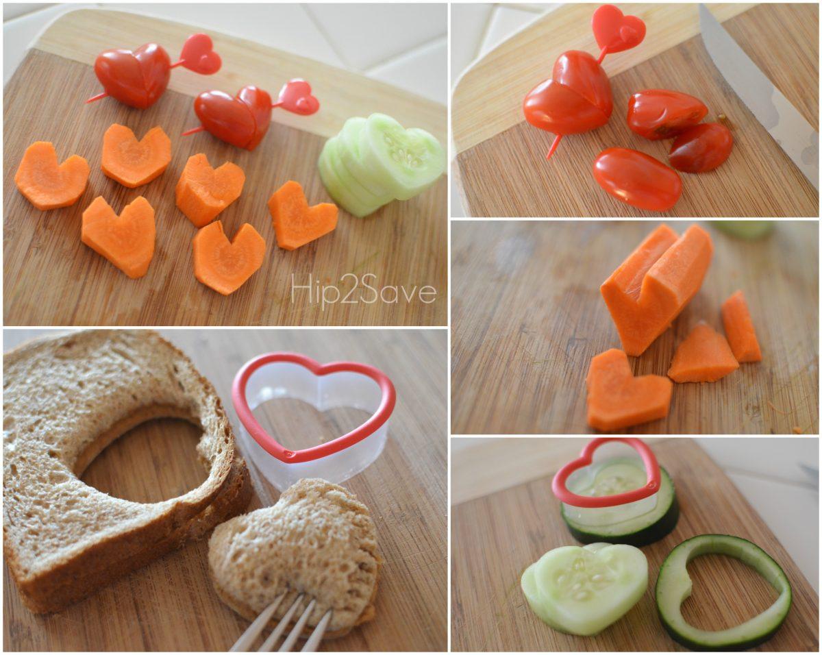 Heart Shaped Vegetables Hip2Save