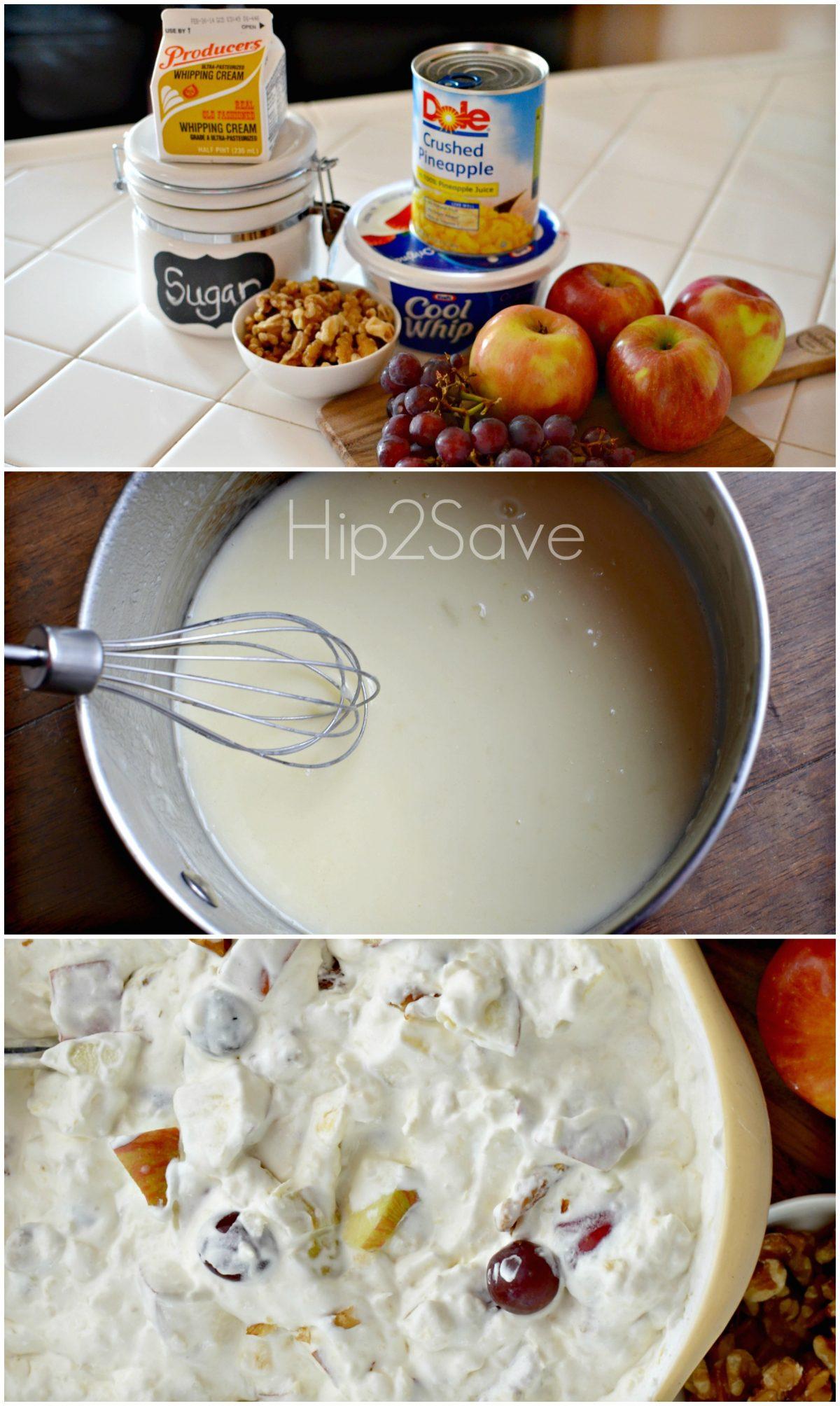 How to make apple waldorf salad Hip2Save