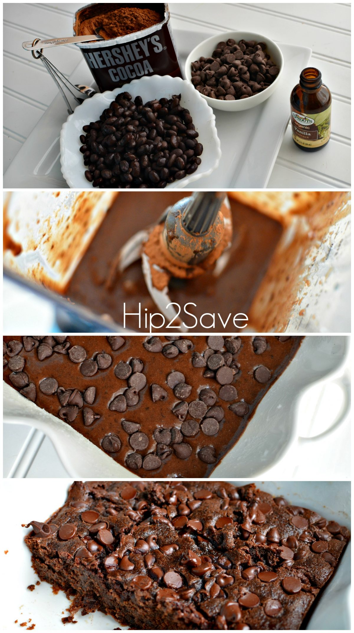 How to make brownies with black beans