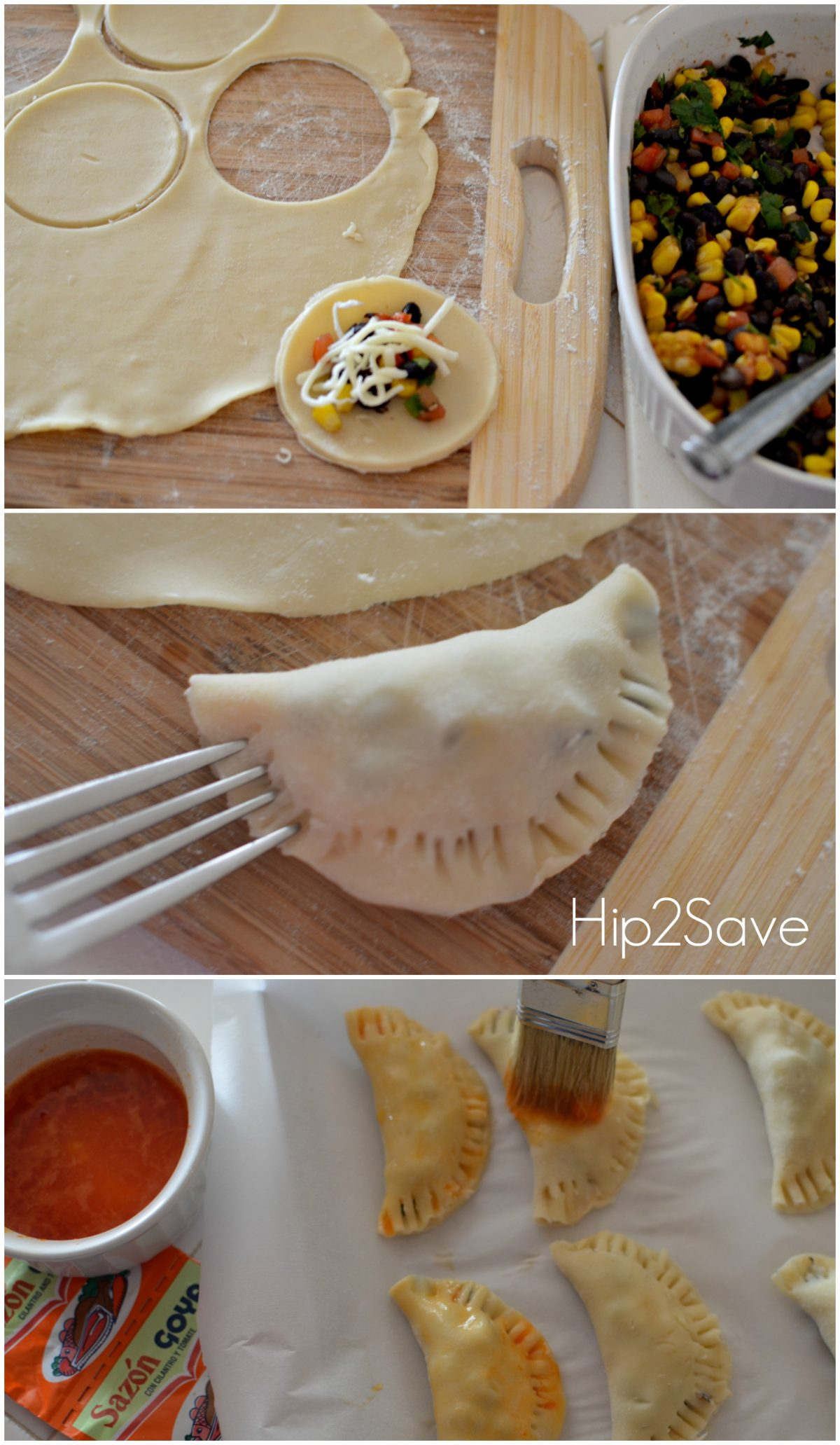 How to make empanadas from pie crust Hip2Save