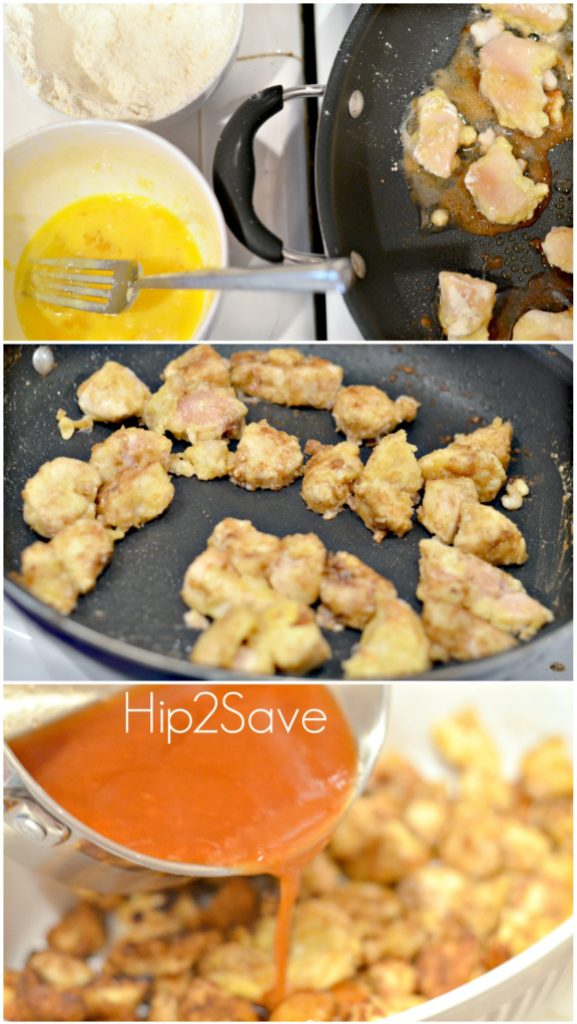 How to make sweet and sour chicken Hip2Save