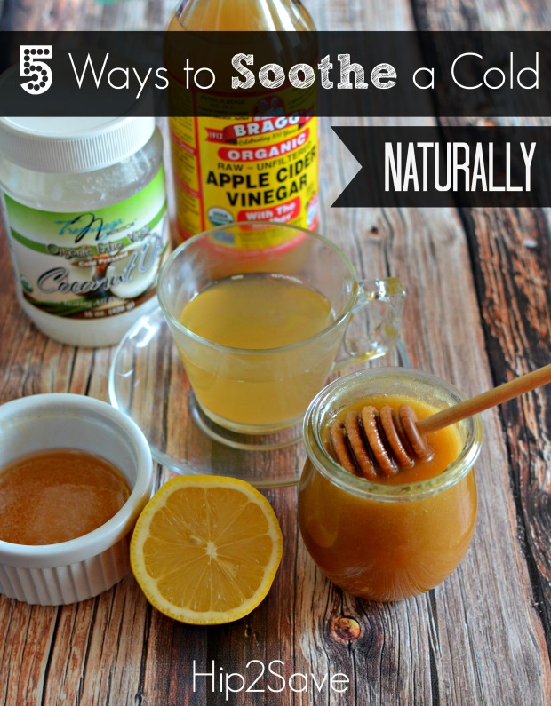 5 Ways to Soothe a Cold Naturally
