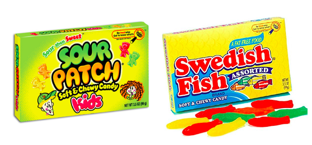 Walgreens Sour Patch Kids Swedish Fish Theater Box Candy Only 0 55 Each After Points Hip2save