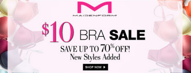 94540e2bda52d Maidenform   10 Bra Sale + Additional 15% Off   Bras As Low As  8.50 -  Hip2Save