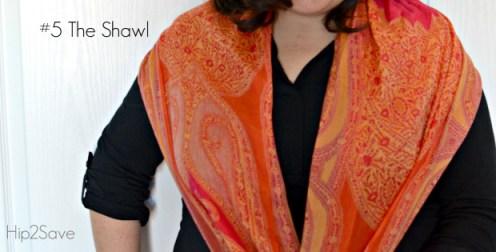 the shawl scarf Hip2Save