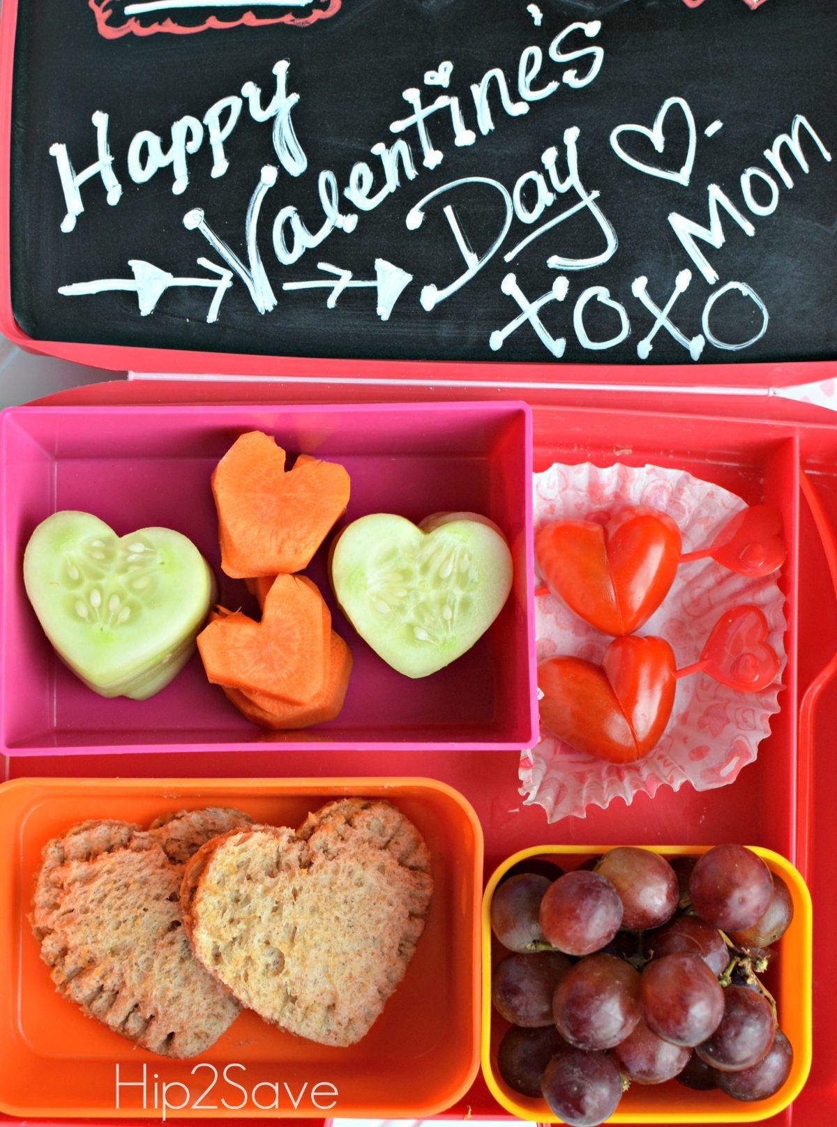 Valentine's Day Lunch box ideas Hip2Save