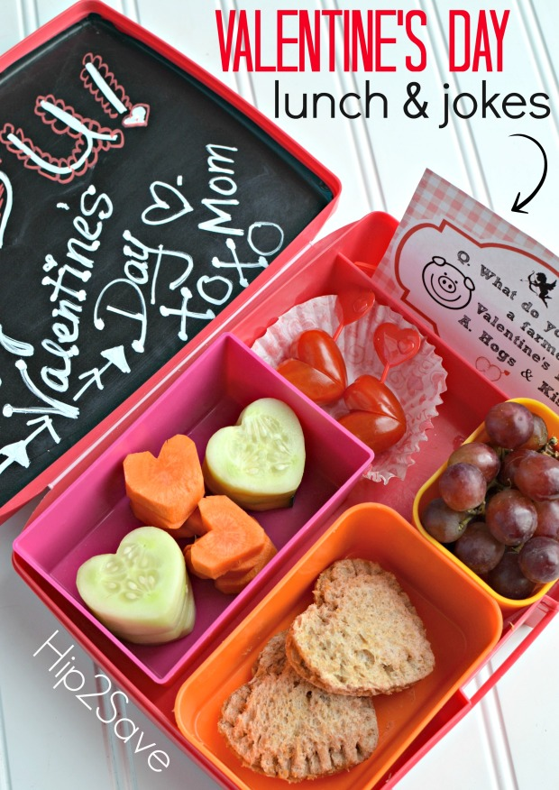 Valentine's Day Lunch Ideas for Kids (+ FREE Printables)