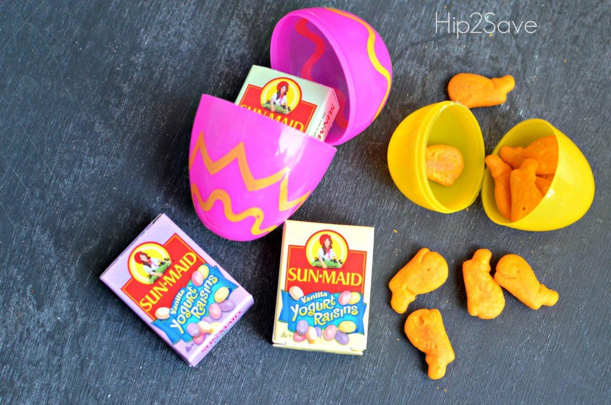 healthy snacks for easter eggs