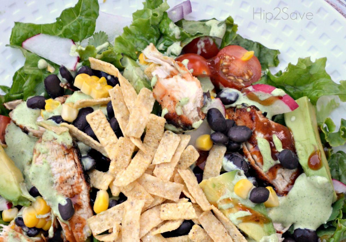 Hip2Save BBQ Chicken Salad