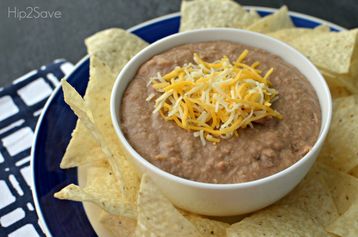homemade refried beans Hip2Save