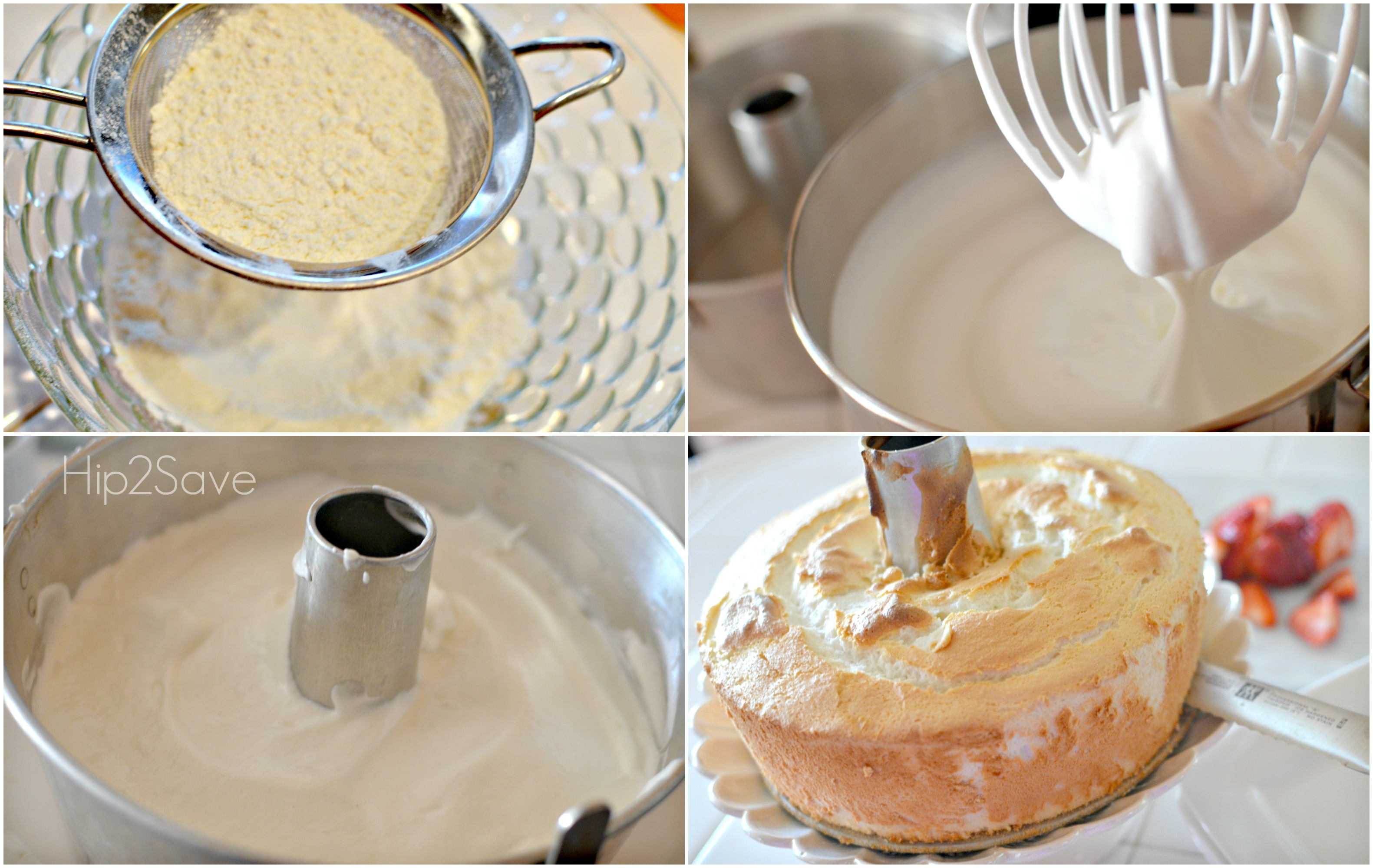 How to make an angel food cake Hip2Save