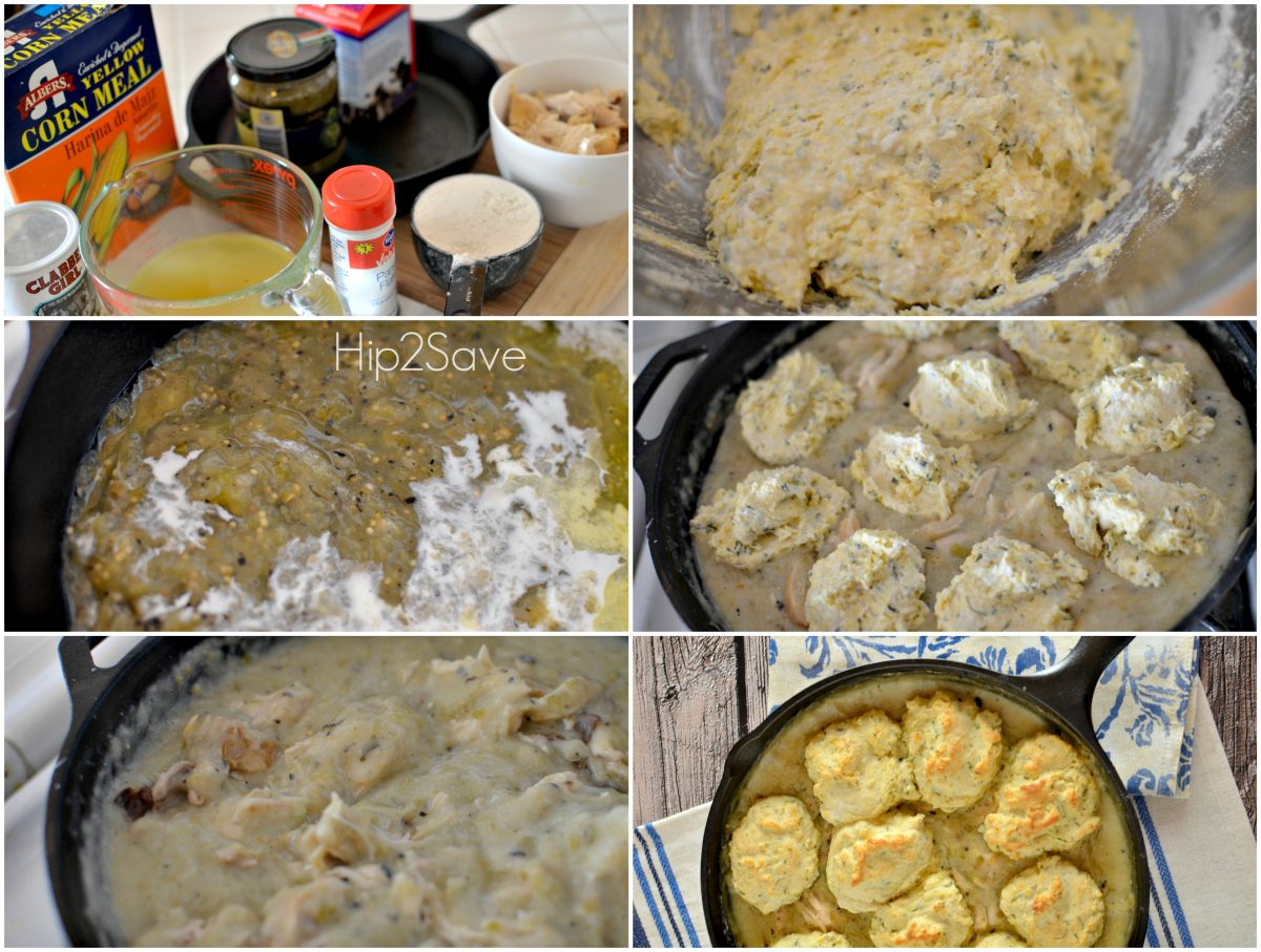 How to make green chile chicken and dumplings Hip2Save