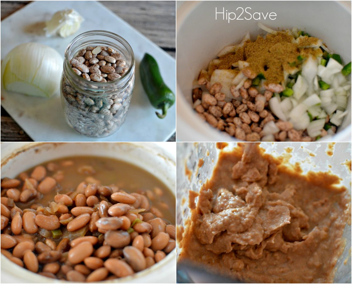 How to make refried beans in the slow cooker