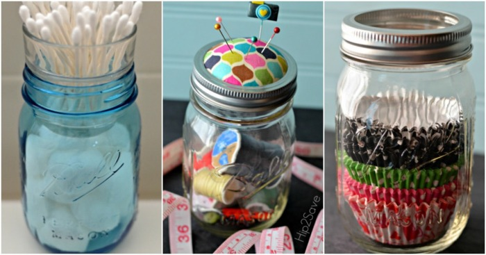 Brilliant Ways to Use Mason Jars Hip2Save.com