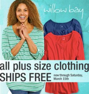 b83f3cd176b Shopko: FREE Shipping on Women's Plus-Size Clothing + Additional 15 ...