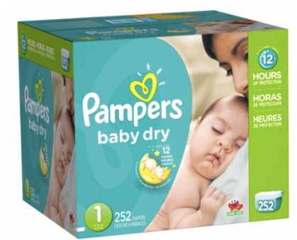 Amazon Mom Pampers Baby Dry Size 1 Diapers Only 14 162 Each