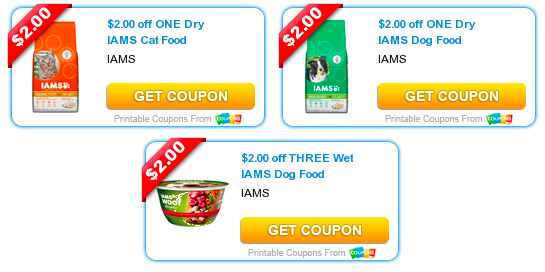 photo about Iams Printable Coupon titled 3 Printable Iams Discount codes (Reset!?) \u003d Iams Canine Foodstuff as Very low as