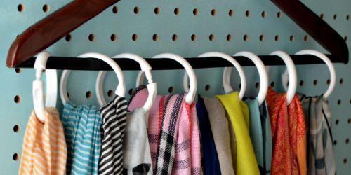 5 Ways to Organize Scarves
