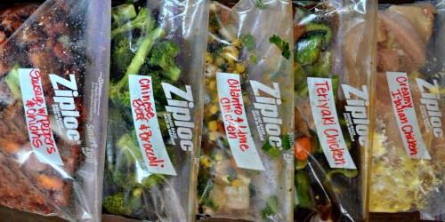 Make 5 Crock-Pot Freezer Bag Meals in Just 1 Hour
