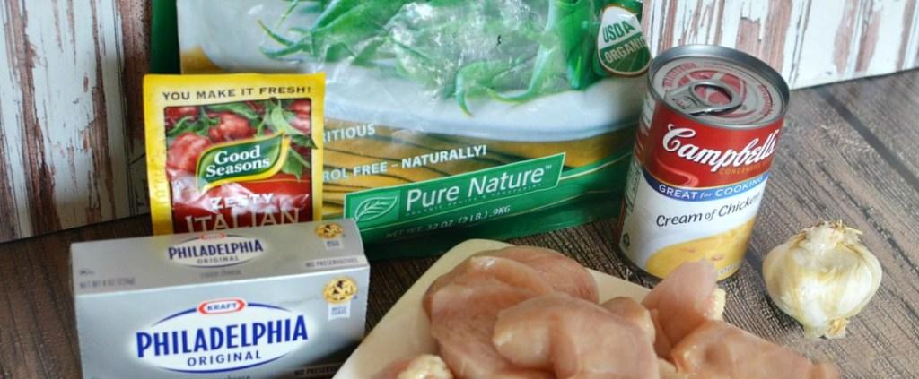 creamy italian chicken freezer meal ingredients