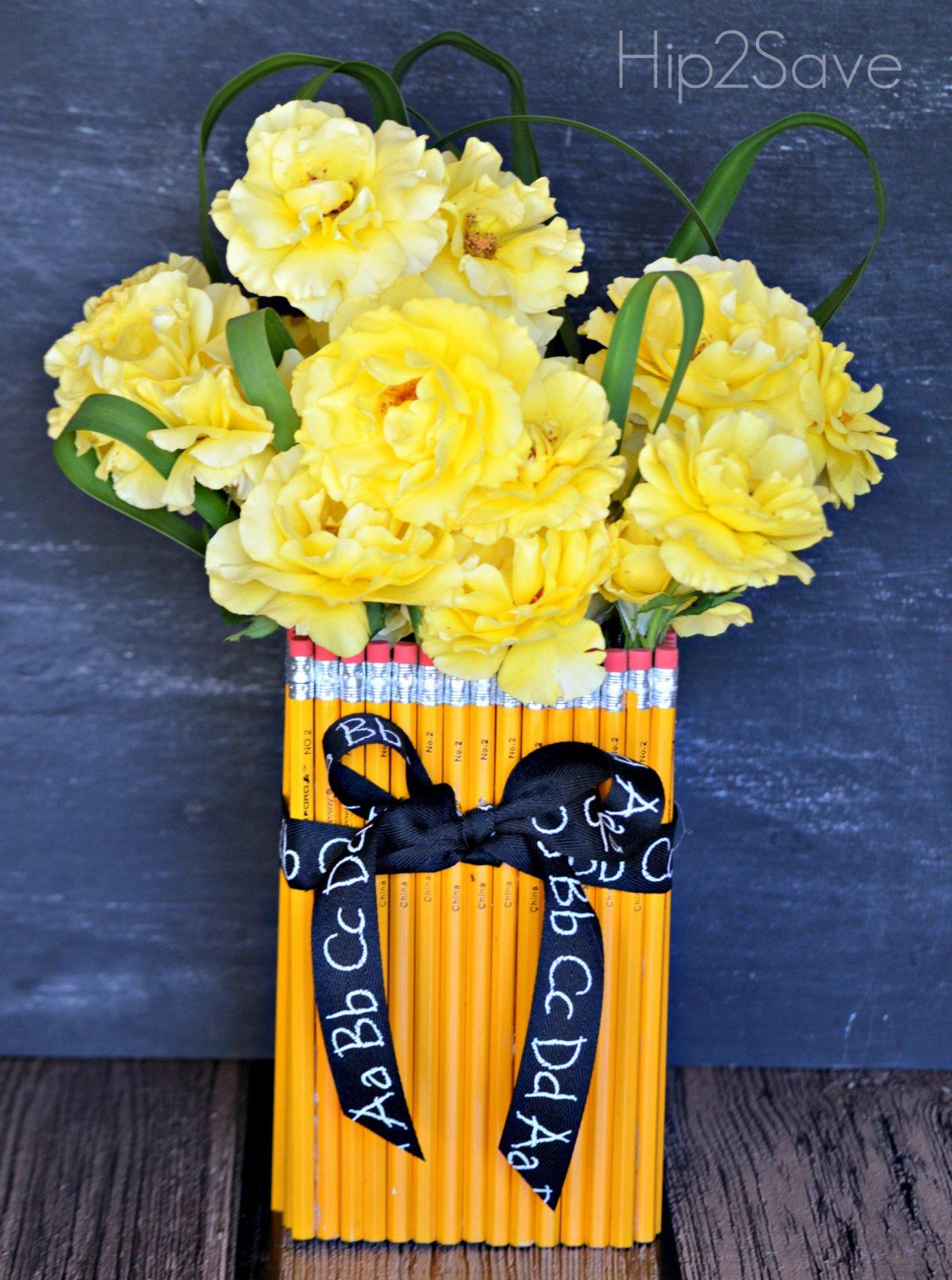 Cute Teacher Vase for Teachers Hip2Save