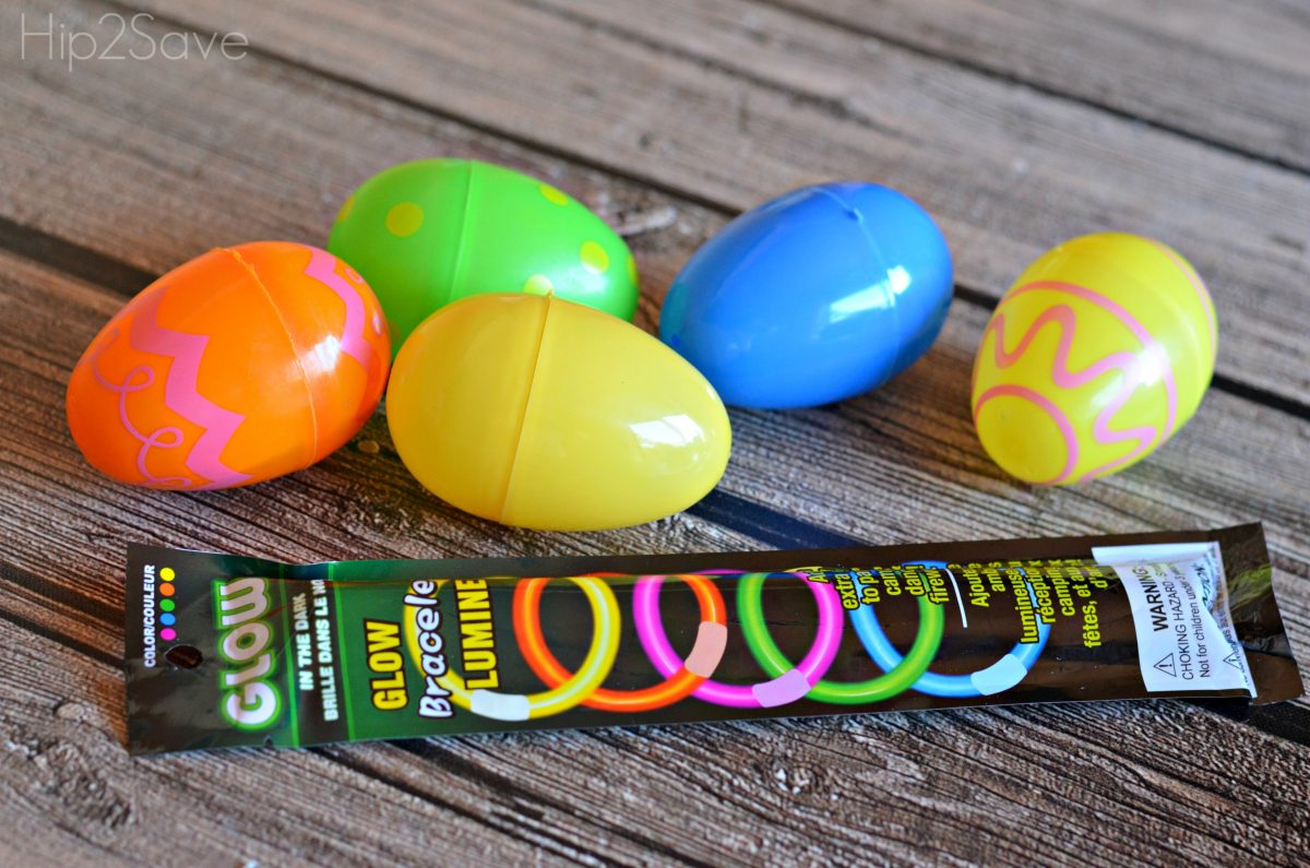 Glow sticks and Easter Egg hunt Hip2Save