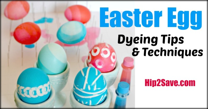 Easter Egg Dyeing Tips and Techniques