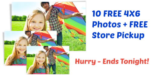 Walgreens Photo: 10 FREE 4×6 Prints & FREE Store Pickup (Ends Tonight!) + Reader Tip