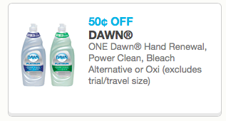 picture regarding Printable Dawn Coupons identify $0.50/1 Sunrise Dish Cleaning soap Printable Coupon (Reset!) \u003d Just