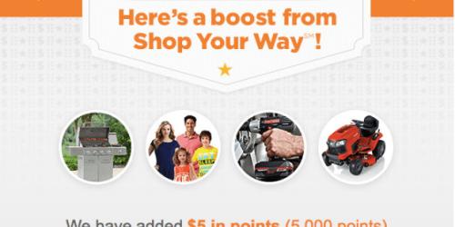 Shop Your Way Rewards Members: Possible FREE Bonus Points (Check Your Inbox)