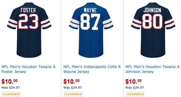 factory authentic f9e20 eaa56 Walmart.com: Men's NFL Jersey Only $10 (Reg. $34.97!) - Hip2Save