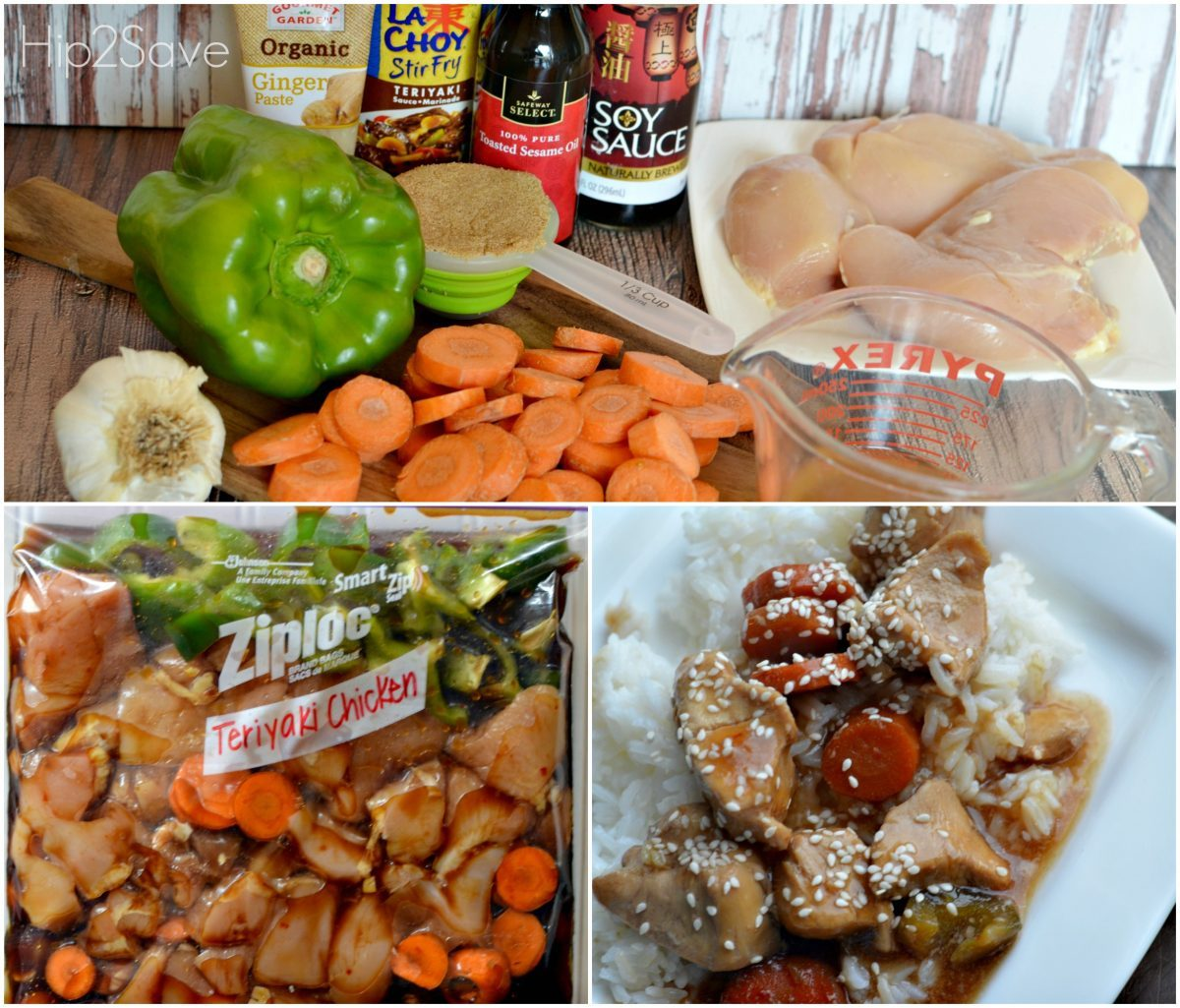 Teriyaki Chicken Freezer Bag Meal Hip2Save.com