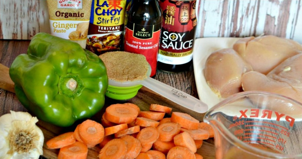 teriyaki chicken freezer meal ingredients