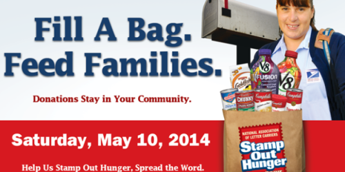 Stamp Out Hunger Food Drive on May 10th: Donate Your Non-Perishable Food Items