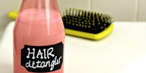 2 Ingredient DIY Hair Detangler Spray