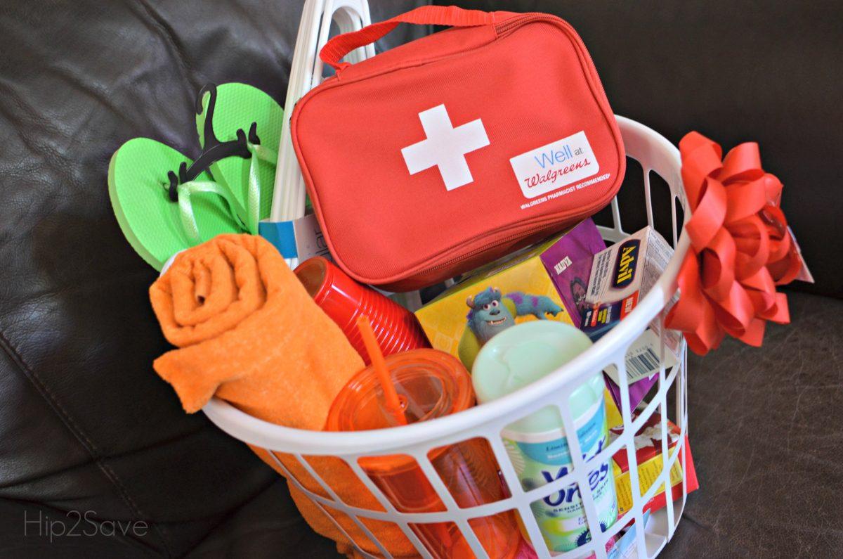 Dorm Room Essentials Gift Basket