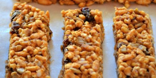 Homemade Gluten-Free Trail Bars