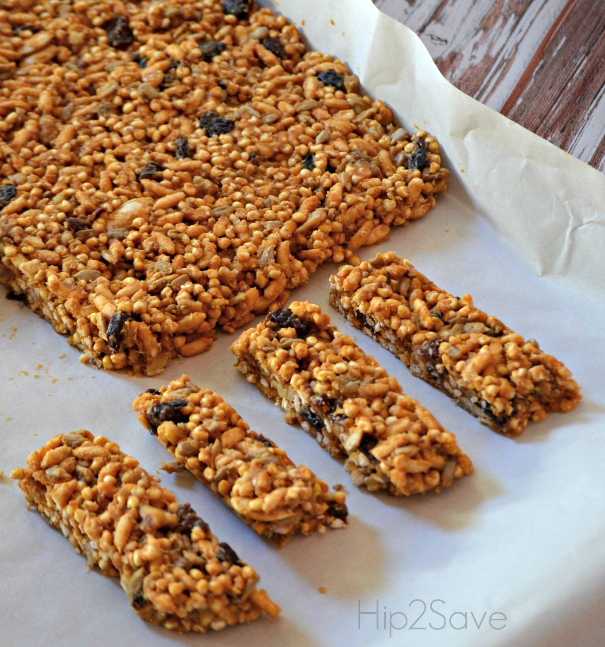 Homemade Healthy Trail Bars