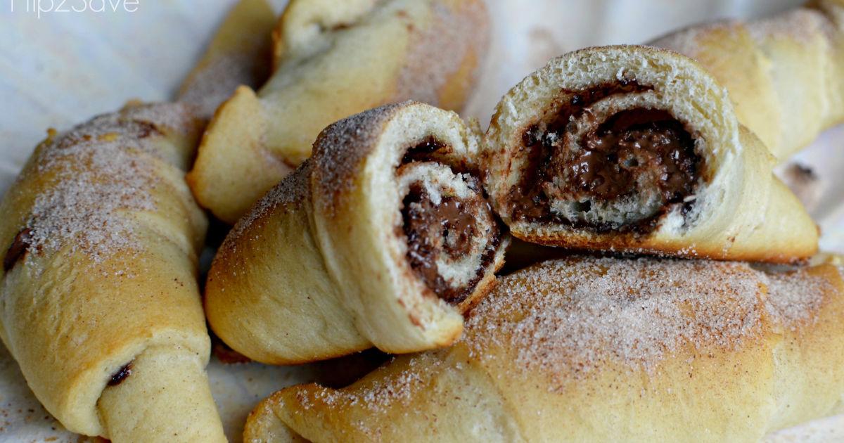 nutella crescent rolls recipe