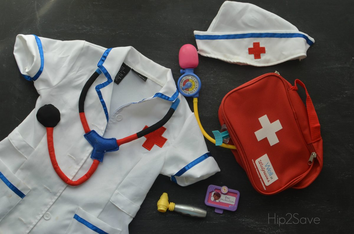 Pretend Dr. Kit with First Aid Bag Hip2Save