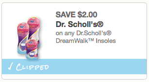 DR SCHOLLS ARCH SUPPORT COUPON