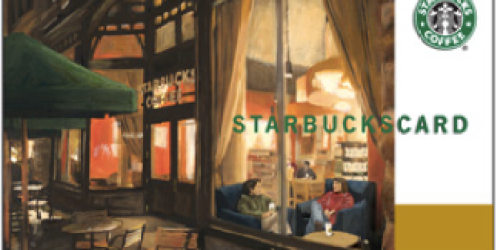 Huggies Rewards Members: 250 Points for $5 Starbucks Gift Card (Available Again!)