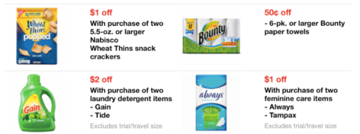 Target New Mobile Coupons Save On Veggies Fresh Meat Tide More Hip2save